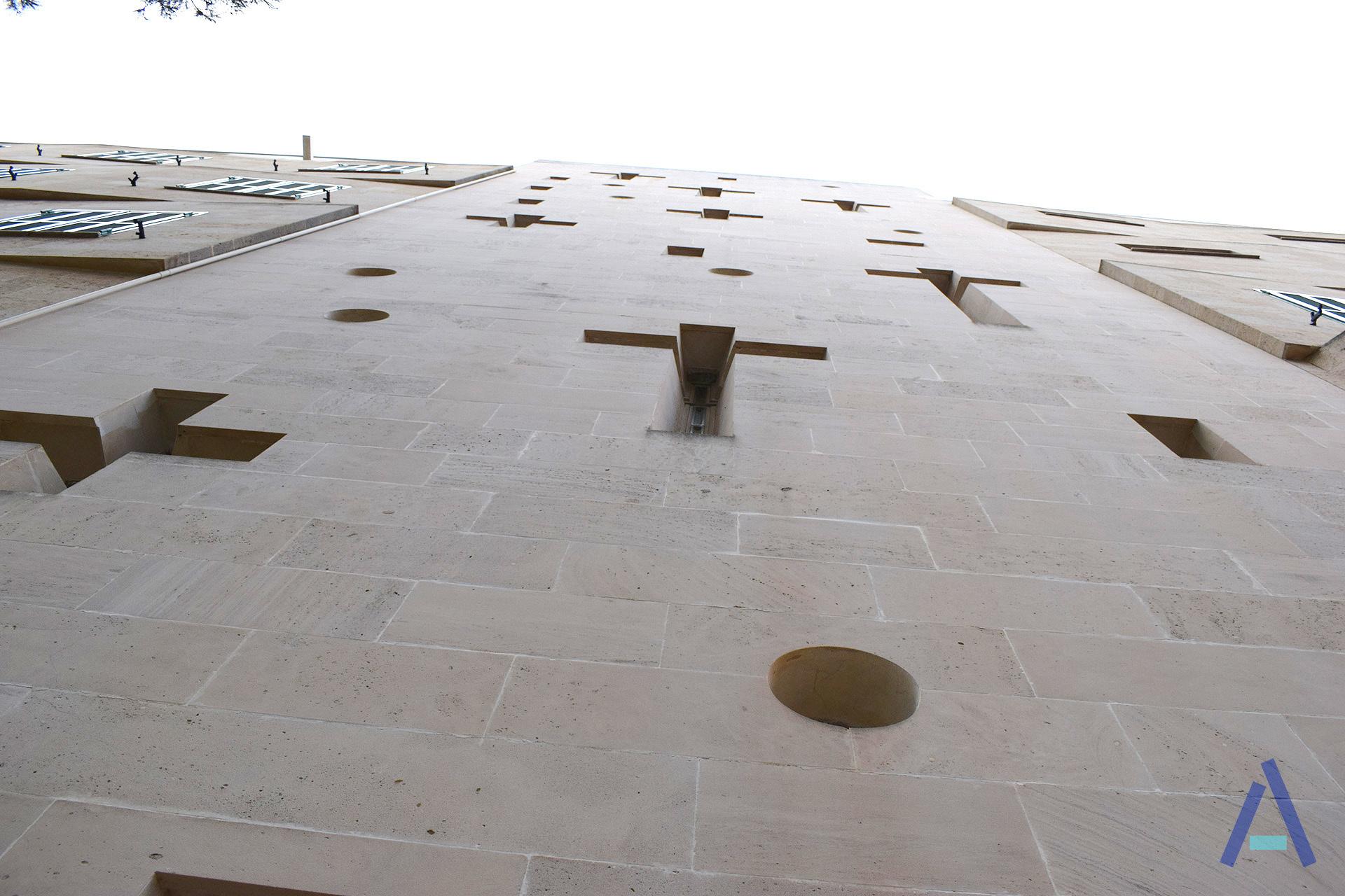 Arenal Church Walls