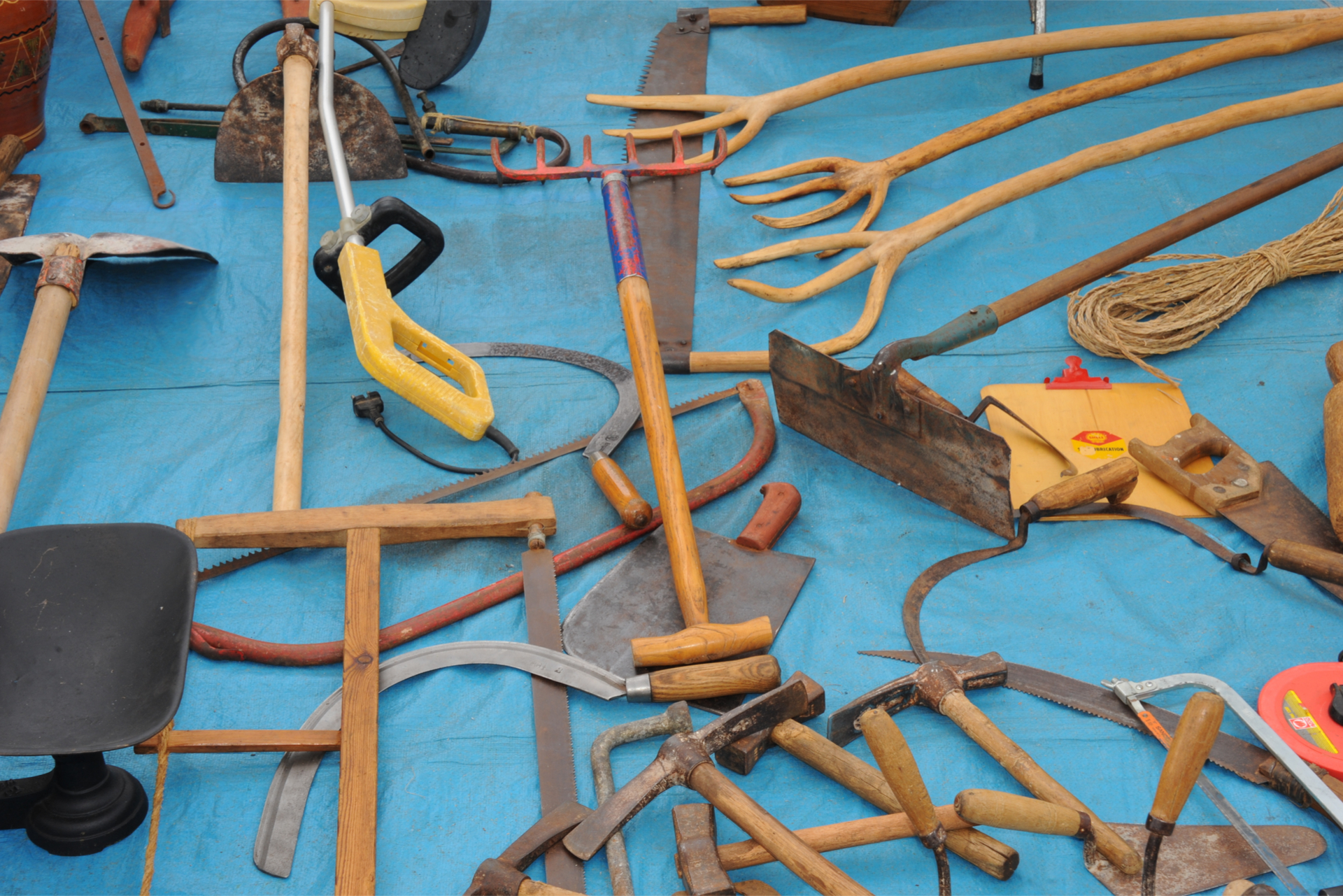 Old Mallorcan Tools
