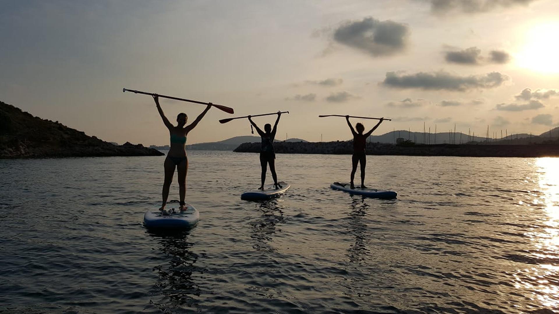 Paddle boarding Mallorca Adele 3