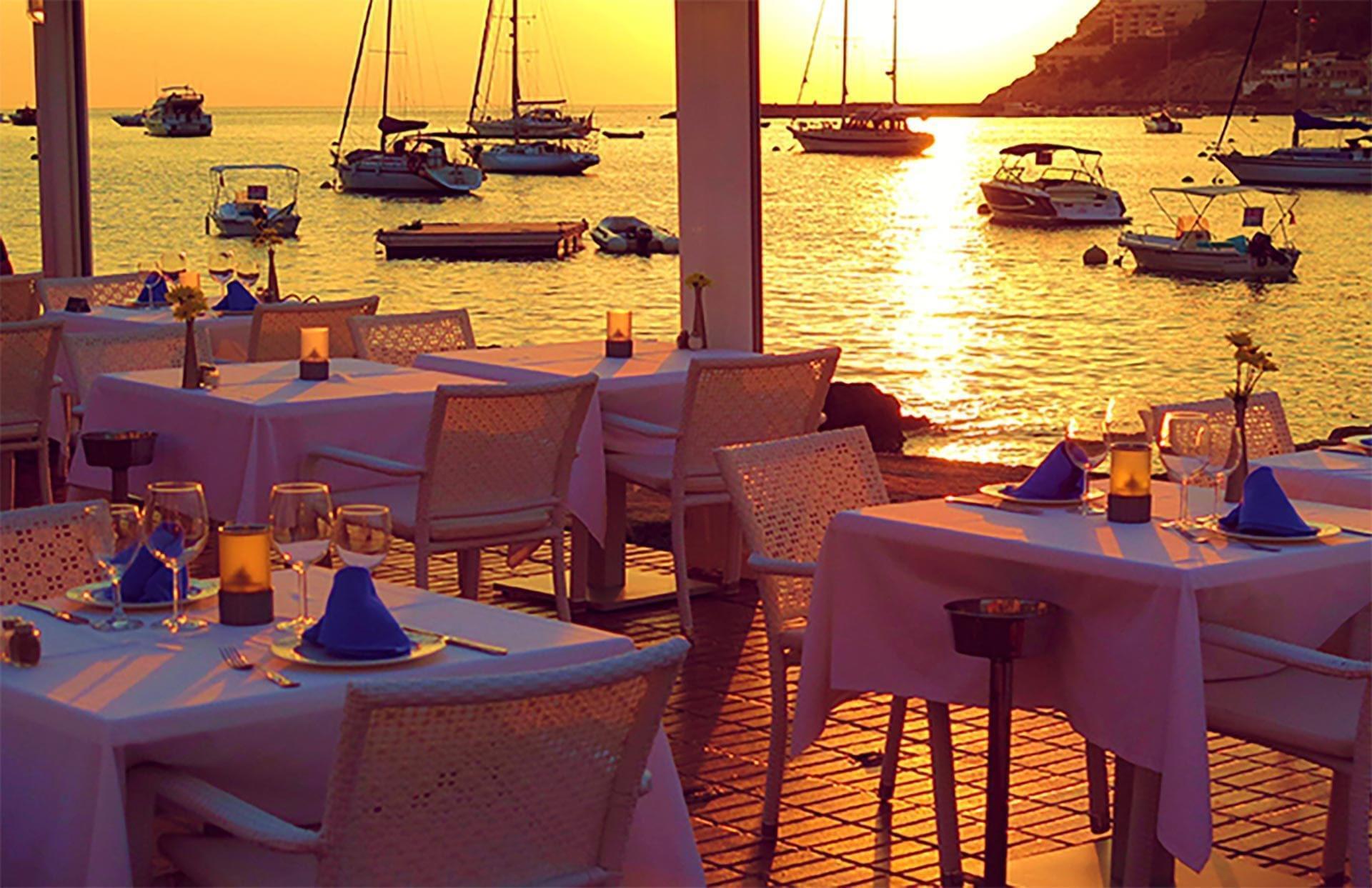Restaurant Port Andratx Sunset