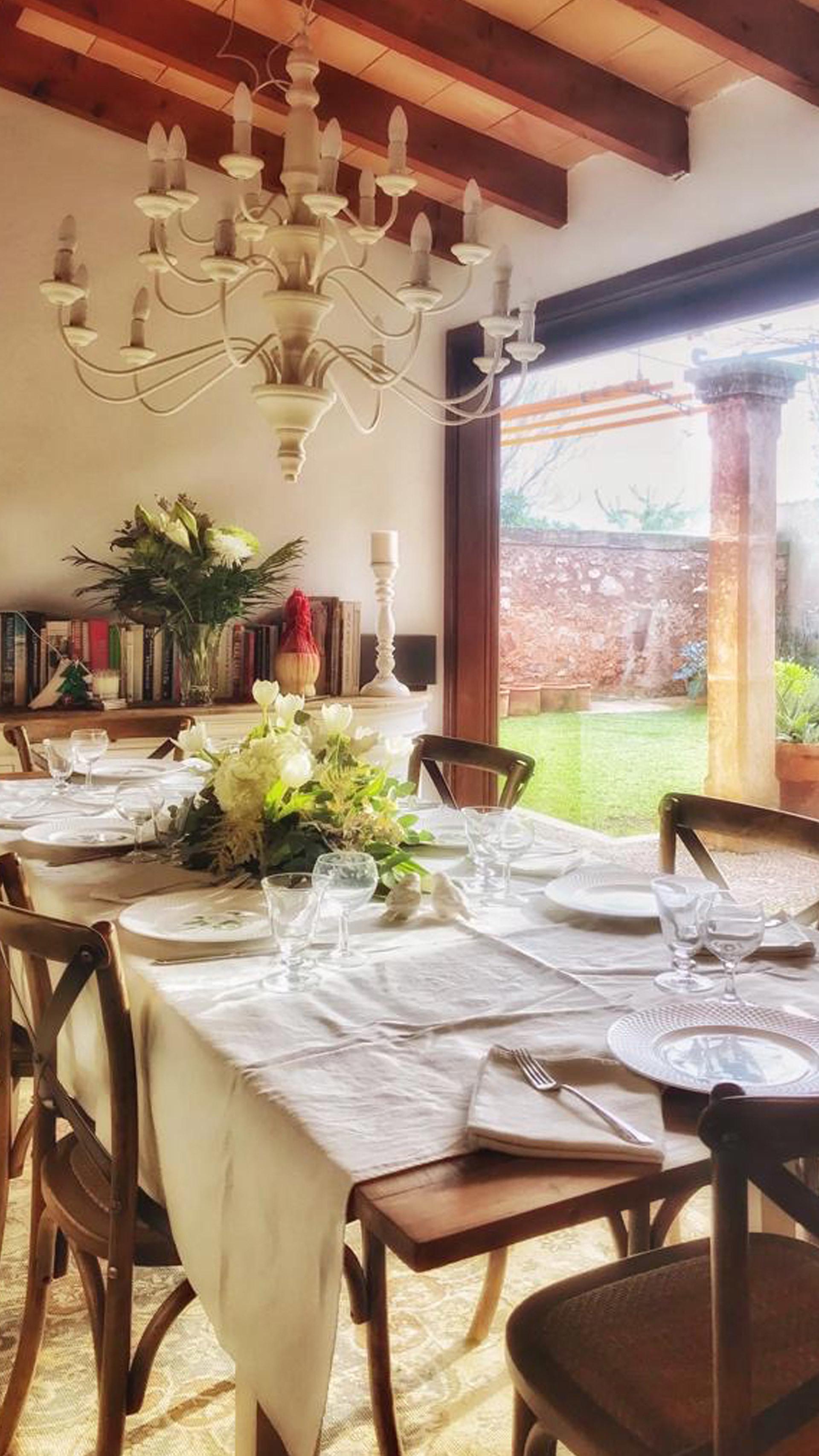 Thanksgiving table Mallorca Art de la table