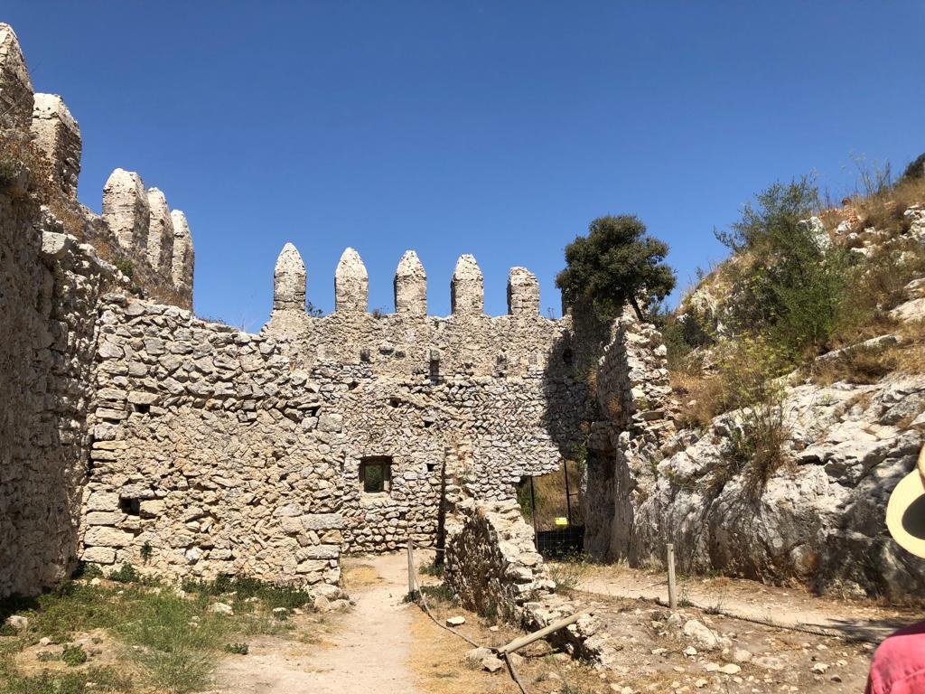 Wall of Castillo