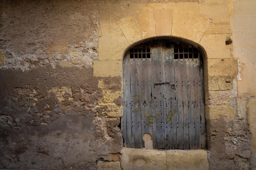 Old door in manacor