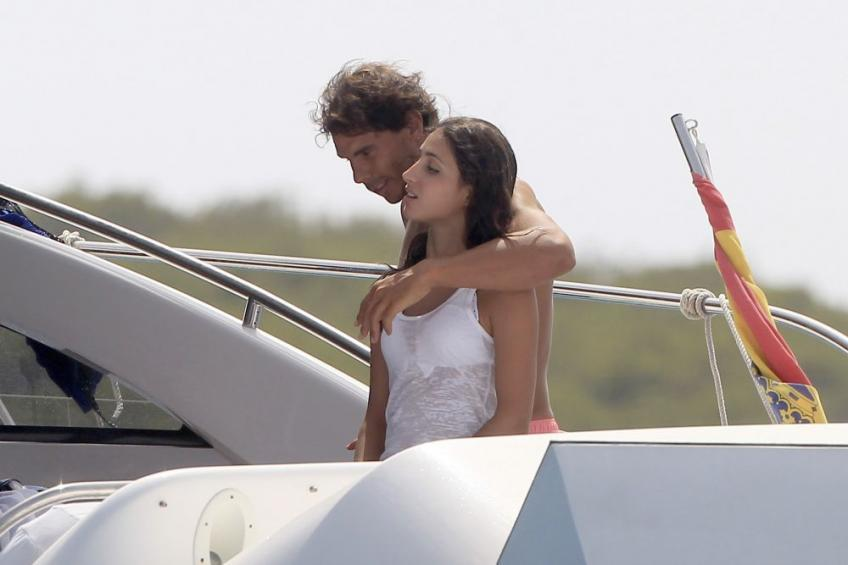 Rafael nadal i love to spend time with my girlfriend on the boat