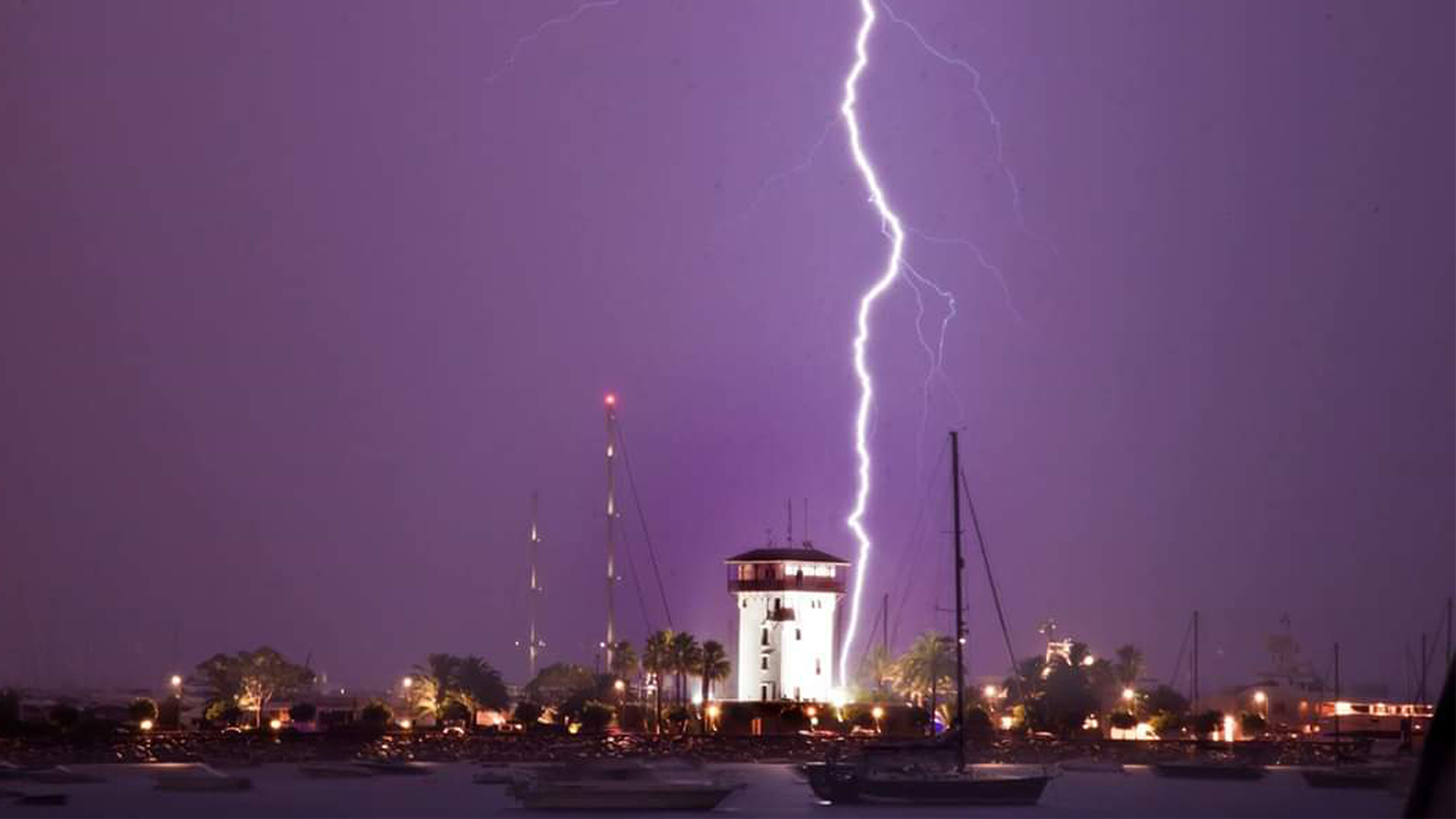 Storm portixol mallorca picture by Shrab Singh